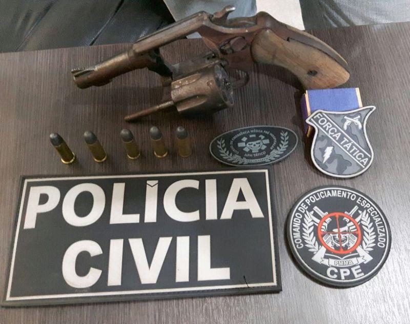 Polícia Civil prende suspeito de homicídio em Bacabal