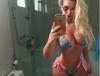 Veridiana Freitas mostra corpão em selfie: '82 dias antes do carnaval'