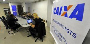 Fgts: Caixa Econômica funcionará até julho