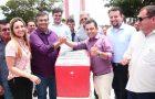Flávio Dino entrega obras estratégicas para infraestrutura e educação em Coroatá e Coelho Neto