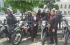 Talita Laci recebe motos para reforçar a segurança pública da Raposa