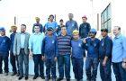 Governador Flávio Dino vistoria obras do Hospital Regional de Balsas