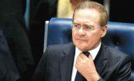 Renan anuncia saída da liderança do PMDB no Senado