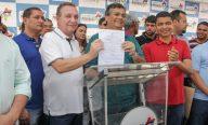 Luis Fernando e Flávio Dino inauguram obras no Araçagy e Parque Vitória e anunciam novas ações