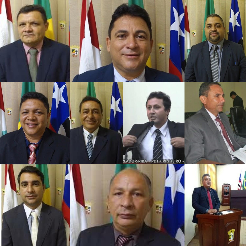 Vereadores que votaram contra a transparência