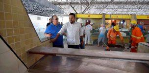 Obras no Mercado do Peixe, da Orla do Araçagi e Praça do Foguete são preparadas para inaugurações