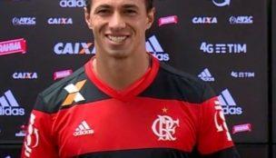 De saída do Flamengo, Leandro Damião agradece clube em mensagem nas redes sociais