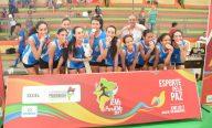 Escola Reino Infantil conquista o ouro no voleibol feminino nos JEMs 2017