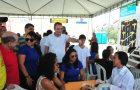 Prefeitura realiza Ação Social conjunta levando serviços para a região das Vilas