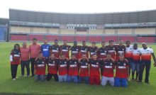 Fátima Araújo acompanha atletas da Associação de Surdos e Mudos do Ma no embarque rumo a Liga Nordestina de Futebol