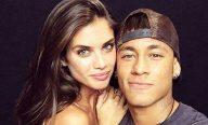 Novo affair de Neymar é portuguesa e angel da Victoria's Secret