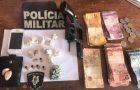 Polícia apreende drogas e armas de fogo nas cidades de Pedro do Rosário e São Bento