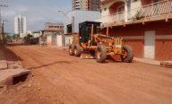 Prefeitura conclui recuperação de ruas no Maranhão Novo