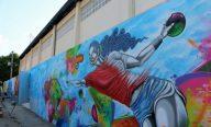 Governo inaugura Ginásio Costa Rodrigues com fachada artística
