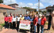 Governo dá início a nova etapa do Programa Mais Asfalto em Alcântara