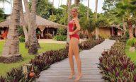 Prestes a completar 37 anos, Ana Hickmann curte férias em família