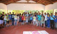 Raimundo Penha visita Casa Bom Samaritano e conhece atividades do DJOMA