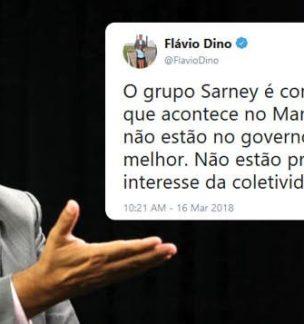 Temer estaria boicotando o Maranhão a pedido de Sarney, sugere Dino