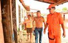 Equipes iniciam cadastramento do Cheque Minha Casa para famílias atingidas pela chuva
