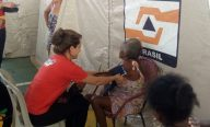Fesma faz mais de 800 atendimentos a prejudicados pela chuva em Pedreiras e Trizidela do Vale