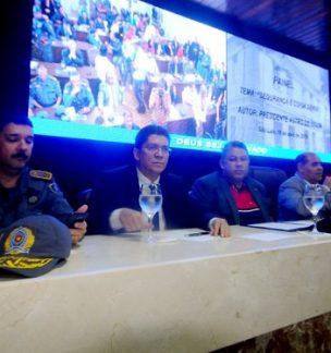 Painel realizado na Câmara Municipal  discute segurança pública em São Luís