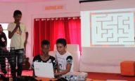 Estudantes do Núcle o de Altas Habilidades da Prefeitura apresentam projetos no Scratch Day
