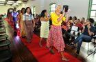 Prefeitura capacita público da rede socioassistencial em curso de corte e costura