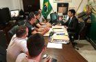 Wellington reúne-se com candidatos sub judice do concurso da PMMA