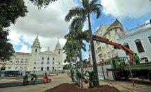 Praça da Mãe d'Água recebe novo paisagismo; sendo requalificado pelo Iphan e Prefeitura