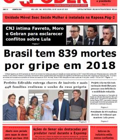 Edição do dia 20.07.2018