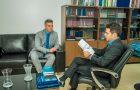Neto Evangelista entrega ao MPF relatório que pede manutenção do convênio entre a Cemar e a CEF