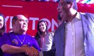 Astro de Ogum participa de lançamento da pré-candidatura de Weverton ao Senado