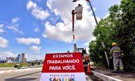Prefeitura revitaliza e moderniza sistema de iluminação pública da Via Expressa