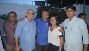 Márcio Coutinho participa de lançamento de pré-candidaturas do PRTB
