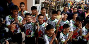 Governo da Tailândia quer controlar gravações de filmes sobre os meninos resgatados em caverna