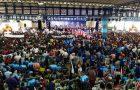 Raposa rouba a cena! Milhares participam da convenção de Flávio Dino
