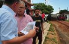 Luis Fernando visita obras da prefeitura em bairro da região da Sede e Parque Jair