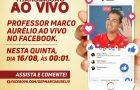Deputado Marco Aurélio iniciará campanha no primeiro minuto do dia 16