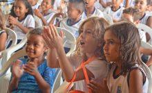 Projeto leva lições de consumo consciente de recursos naturais para estudantes do município