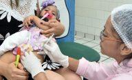 Prefeitura continua mobilização para imunizar crianças contra pólio e sarampo