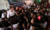 Luis Fernando abre comemorações do aniversário da cidade com obras na área da educação