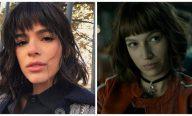 Bruna Marquezine muda corte de cabelo e Neymar compara a personagem de série