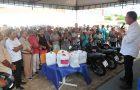 Luis Fernando entrega veículos, equipamentos, fardamentos e Kits para a área da saúde
