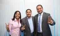 Ao lado dos novos senadores Zé Inácio reafirma apoio a Fernando Haddad