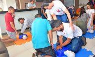 Prefeitura realiza treinamento de primeiros socorros para profissionais de bares e restaurantes